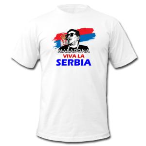 Majica MARADONA -SERBIA